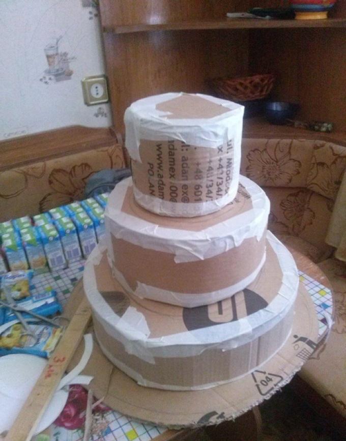 Торт из сладостей своими руками пошаговое 84