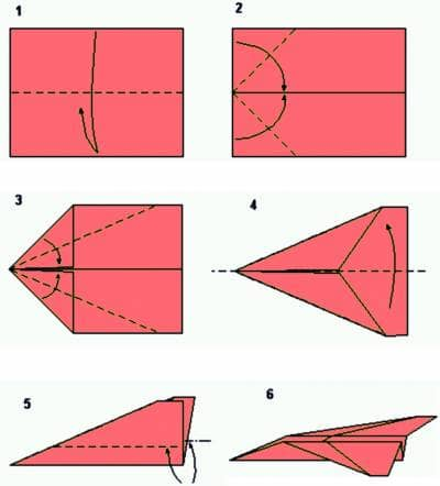 Как сделать самолётик из бумаги который очень  395