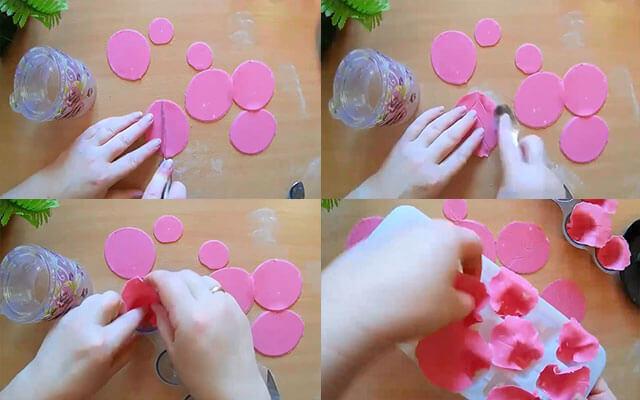 Как сделать мастику для цветов пошагово 369