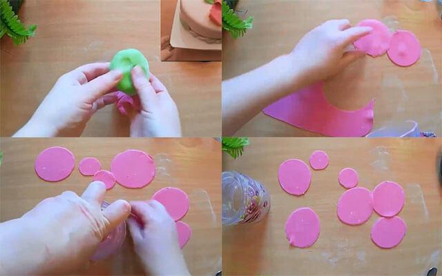 Как сделать мастику для цветов пошагово 208